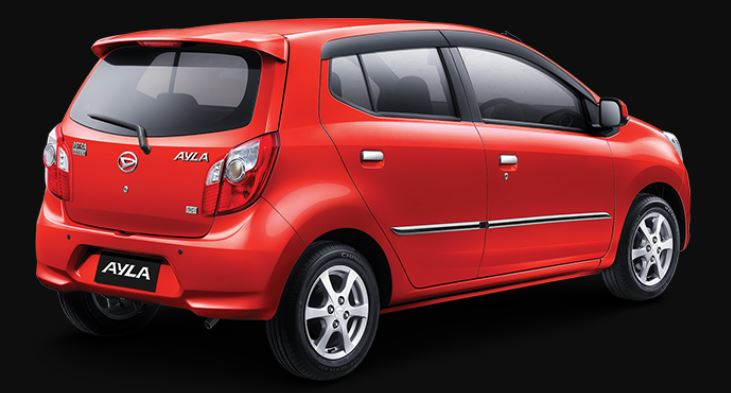 Mobil Daihatsu Ayla Baru D MT
