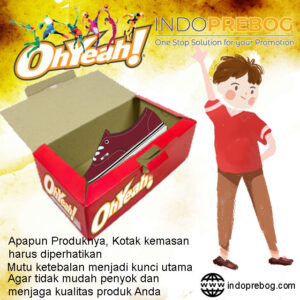Box Packaging Menggunakan Kardus Custom