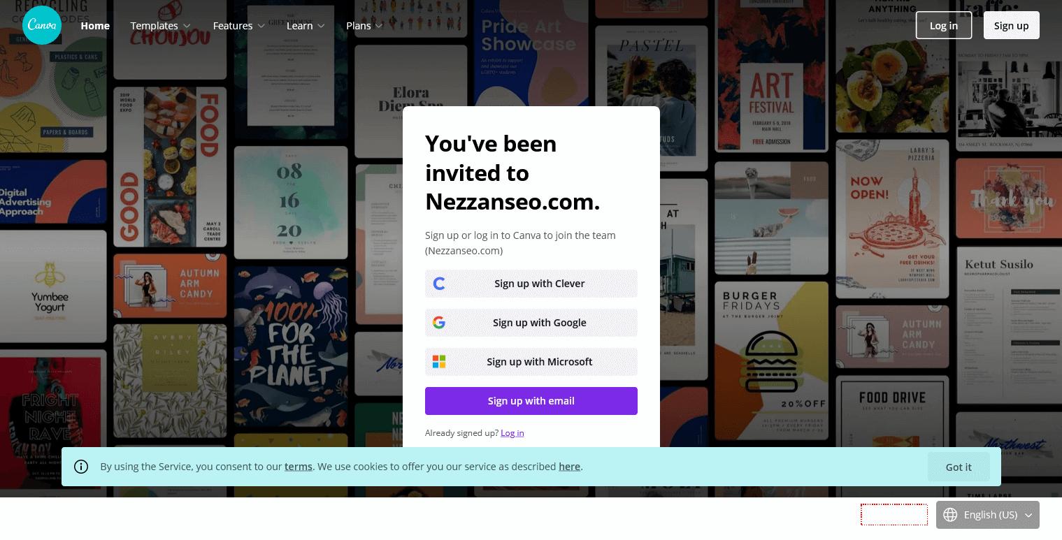 canva pro premium team invite terbaru